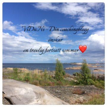 En önskan om trevlig fortsatt sommar